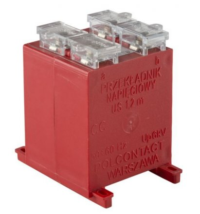 Low voltage, voltage transformers US 1,2m type